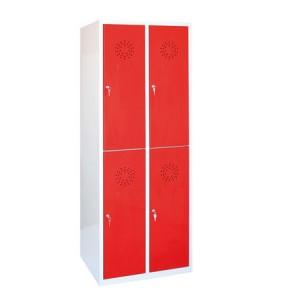 Taquillas con puertas de 33 cm.
